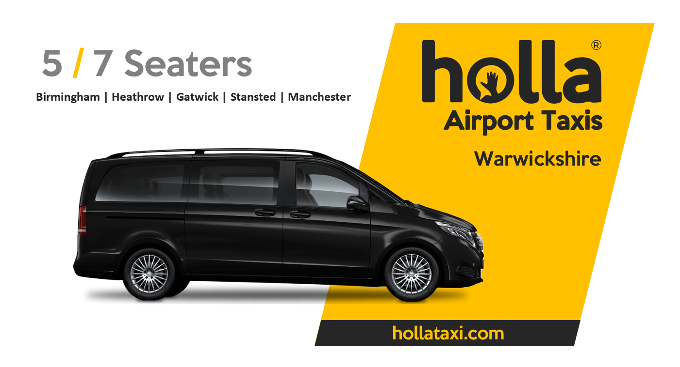 Taxi from Birmingham Airport to Market Harborough