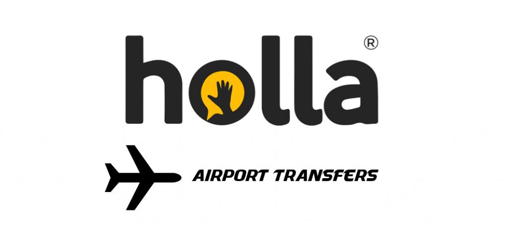 Holla taxi logo